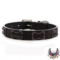 Bret Michaels Pets RockTM Bone Dog Collar