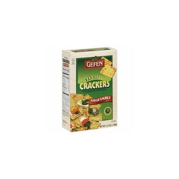 Gefen Cracker Ff Vege 6 OZ -Pack Of 12