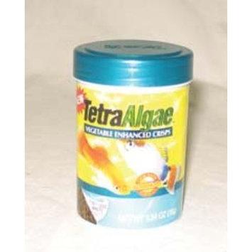Tetra 77196 TetraAlgae Crisps with Feeding Lid, 1.34-Ounce, 185-Ml