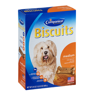 Companion Dog Biscuits Medium