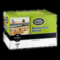 Green Mountain Coffee Keurig Nantucket Blend Medium Roast K-Cups - 12 CT