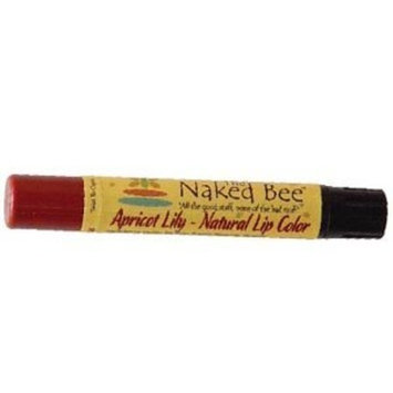 The Naked Bee Apricot Lily Natural Lip Color