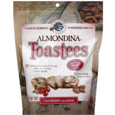 Almondina Cranberry Almond Toastees, 5.25 oz, (Pack of 12)