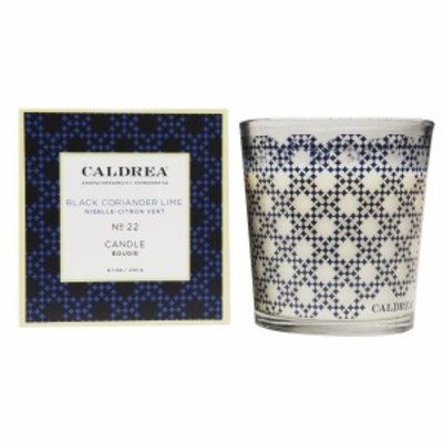 Caldrea Fragranced Candle, No 22 Black Coriander Lime, 8.1 oz