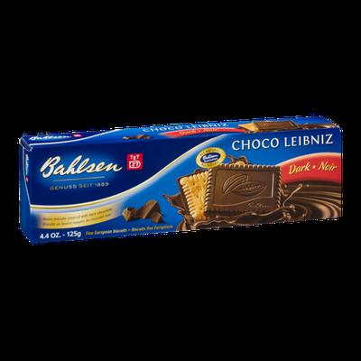 Bahlsen Choco Leibniz Dark Fine European Biscuits