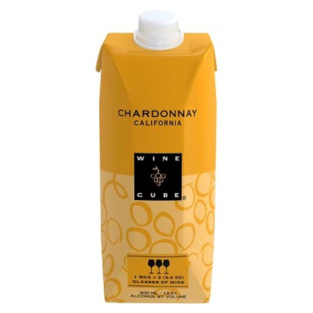 Wine Cube Chardonnay California Wine 500 ml