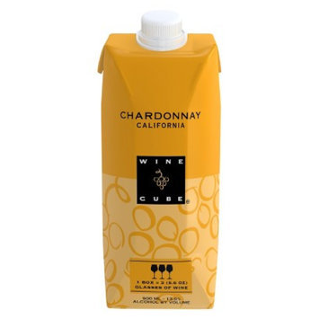 Wine Cube Chardonnay California Wine 500 ml
