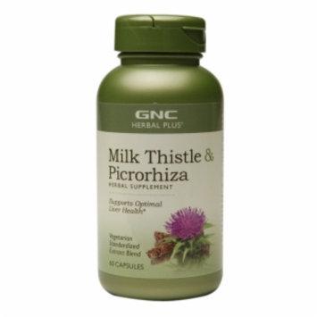 Gnc GNC Herbal Plus(r) Milk Thistle & Picrorhiza