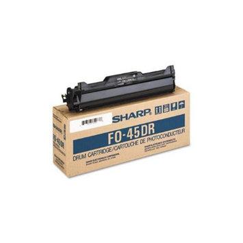 Sharp Refurbished FO45DR Drum Cartridge, Black