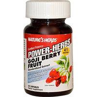 NATURE'S HERBS, Goji Fruit Extract Power - 60 Caps