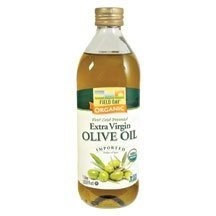 Field Day Olive Oil Organic Ev Glass 1 Ltr -Pack of 12