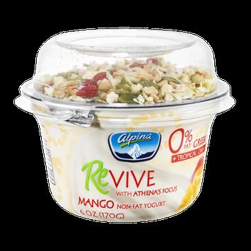 Alpina Revive Mango Non-Fat Greek Yogurt + Tropical Chia & Goji