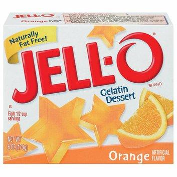 Jell-O : Orange Gelatin Dessert
