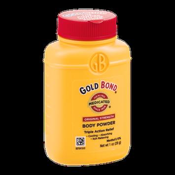 Gold Bond Medicated Body Powder Original Strength