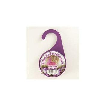 Compaq Compac 25300 Round Closet Freshener- Lavender 4ct