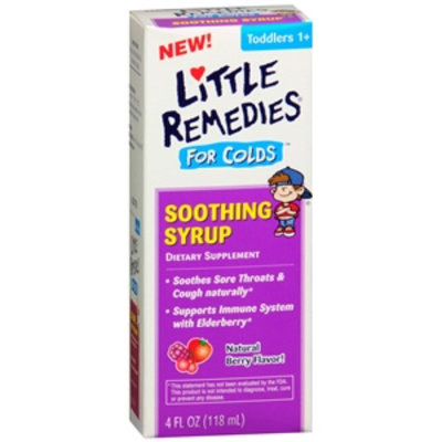 Little Remedies Soothing Syrup for Colds