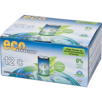 Eco Alkaline Eco Responsible Batteries C