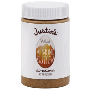Generic Justin's All-Natural Vanilla Almond Butter, 16 oz, (Pack of 3)