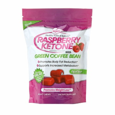 Hns Healthy Natural Systems(r) Raspberry Ketone with Green Coffee Bean