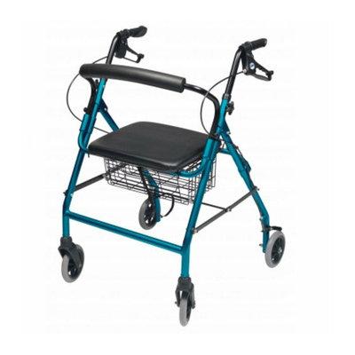 Lumex Walkabout Wide Four-Wheel Rollator