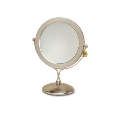 Danielle Enterprises Danielle Vanity Mirror, Brushed Silver, 7x