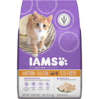 Iams ProActive Health Premium Dry Kitten Food 2 lbs