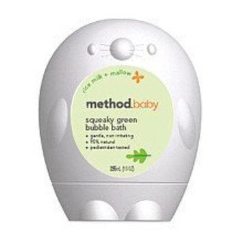 method baby bubble bath rice milk