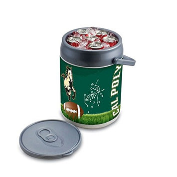 Picnic Time 690-00-000-906-0 Cal Poly State Digital Print Can Cooler in Silver/Gray