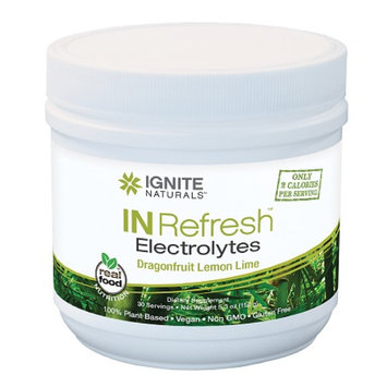 Ignite Naturals IN Refresh Electrolytes Dragonfruit Lemon Lime