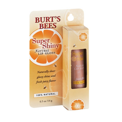 Burt's Bees Super Shiny Natural Lip Gloss Juicy Peach