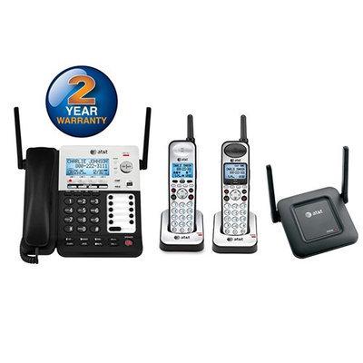 AT & T SB67138 + (1) SB67108 + (1) SB67128 3 Handset Corded / Cordless P