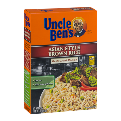Uncle Ben's Asian Style Brown Rice Restaurant Recipe