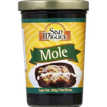 KeHe Distributors 604593 SAN MIGUEL MOLE RED PASTE JAR - Case of 12 - 9 OZ
