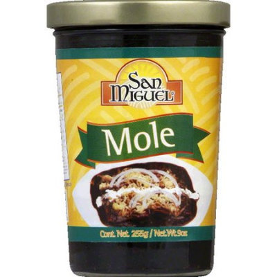 KeHe Distributors 604593 SAN MIGUEL MOLE RED PASTE JAR - Case of 12 - 9 OZ