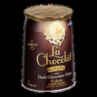 La Chocolat Lowfat Yogurt Banana with Dark Chocolate Chips