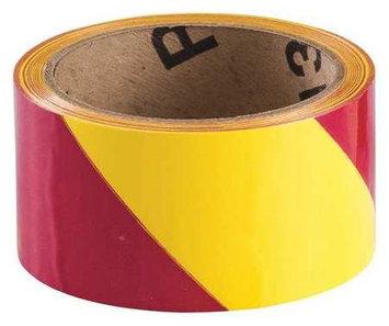 BRADY 55313 Warning Tape, Roll,2In W,54 ft. L