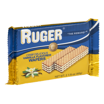 Ruger Vanilla Flavored Wafers