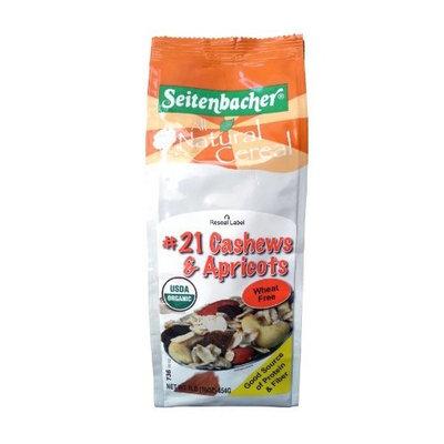 Seitenbacher Muesli #21 Cashews & Apricots, 16-Ounce Bags (Pack of 3)