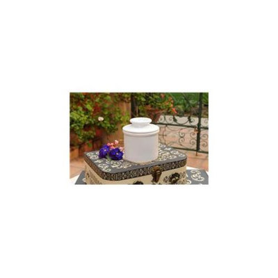 L Tremain BBWHT Butter Bell Crock - Classic White