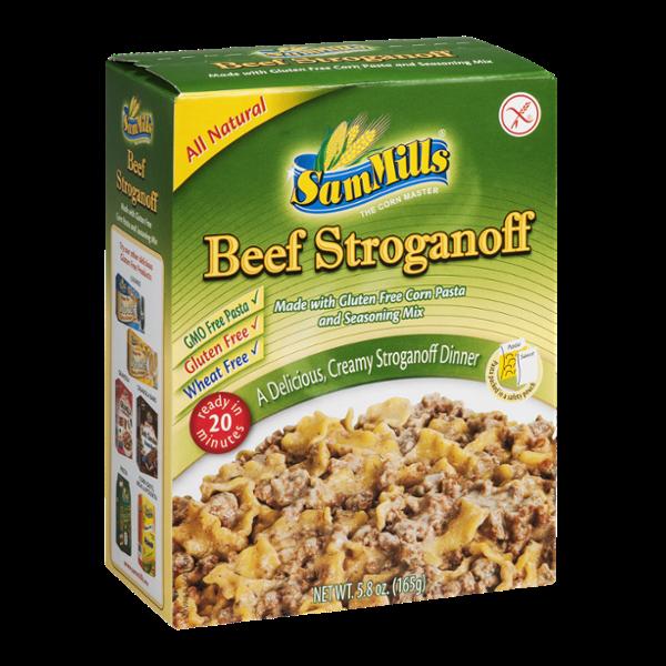 Sam Mills Beef Stroganoff