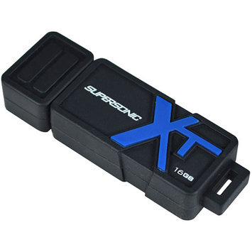 PATRIOT Patriot Supersonic Boost XT 16GB USB Flash Drive - USB 3.0, Up To 90MB/s Read Speed, Up To 30MB/s Write Speed - PEF16GS