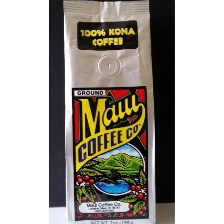 Maui Coffee Company 100% Kona Coffee (Ground), 7 oz, 2 pk