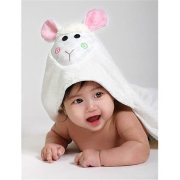 Zoocchini 11204 Lola the Lamp Hooded Towel - 30 x 30 in.