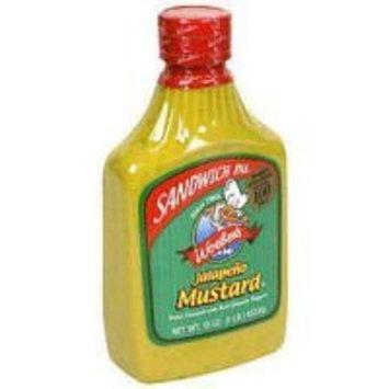 Woeber's Sandwich Pal Jalapeno Mustard 16oz