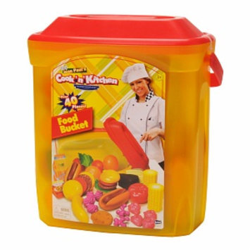 Cook N' Kitchen Gourmet Food Bucket 40 Pc Set Ages 4 +, 1 ea