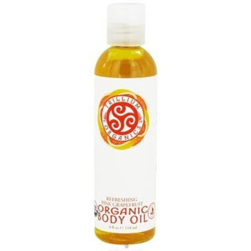 Trillium Organics - Organic Body Oil Pink Grapefruit - 4 oz.