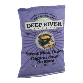 Deep River Snacks Kettle Cooked Potato Chips Sweet Maui Onion