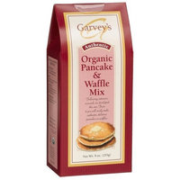 Garvey's Organic Pancake & Waffle Mix, 9-Ounce Boxes (Pack of 6)