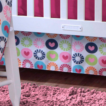 Bananafish Studio Geo Circle Crib Skirt
