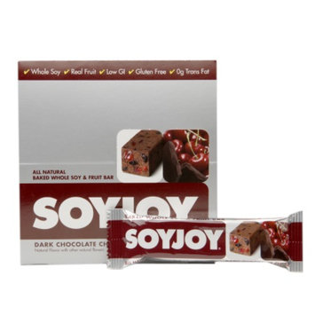 Soyjoy All Natural Baked Whole Soy and Fruit Bars, Dark Chocolate Cherry, 12 ea